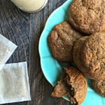 These low carb spice tea cookies are now my go to cookie on a low carb diet. Only a few ingredients and minutes to make and 0.8g net carbs.