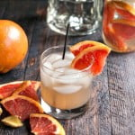 This grapefruit ginger fizz cocktail is a tasty low carb drink for Spring.