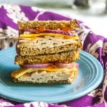 This turkey apricot cheddar sandwich has all the elements of the perfect sandwich.