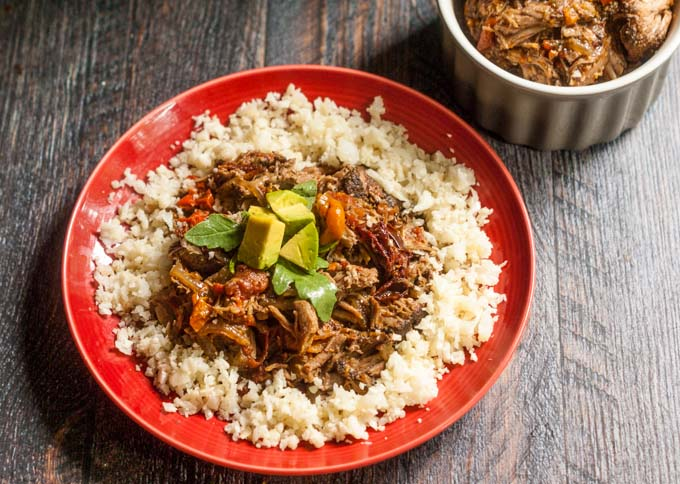 This slow cooker chipotle pork recipe is an easy dinner that can be eaten in a variety of ways. A versatile, easy and delicious meal! Low carb, Paleo and a great freezer meal.