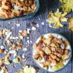 This pina colada granola is the perfect snack to celebrate National Pina Colada Day! A tasty mixture of nuts, seeds, coconut, pineapple and coconut sugar make for a tasty grain free tropical treat. #SundaySupper