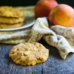 These tasty peach scones are low carb and gluten free. Easy to make and perfect for a quick breakfast in the morning.
