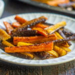 These colorful curried carrots are have a spicy and cheesy flavor you'll love.
