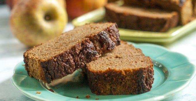 Cinnamon Apple Breakfast Bread (gluten free)