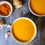 This immunity boosting vegetable soup only takes minutes to make and is perfect for cold and allergy season. Full of health boosting ingredients!