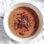This chocolate mocha panna cotta is an easy treat to whip up and one that you can feel good about eating. Only 3.5g net carbs and Paleo too!