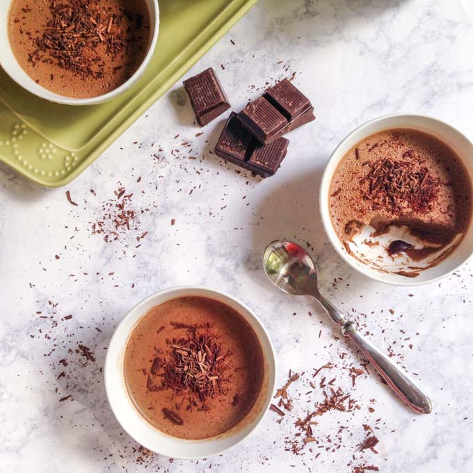 Chocolate Mocha Panna Cotta (low carb, Paleo) - My Life ...