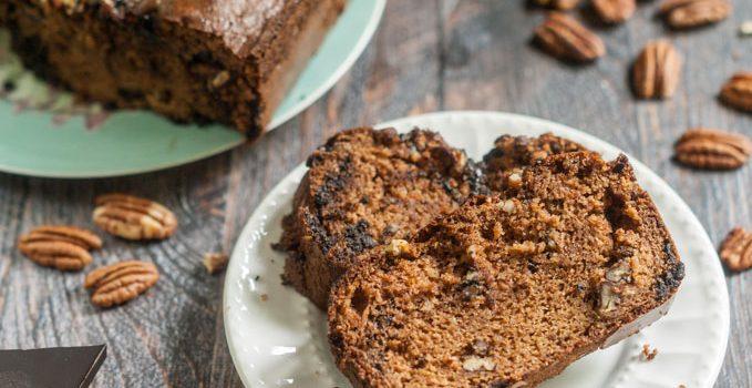 Pecan Chocolate Breakfast Bread (gluten free)