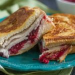 This Thanksgiving leftover turkey cristo is a most delicious way to eat your leftover turkey and cranberry sauce. The special sauce makes it!