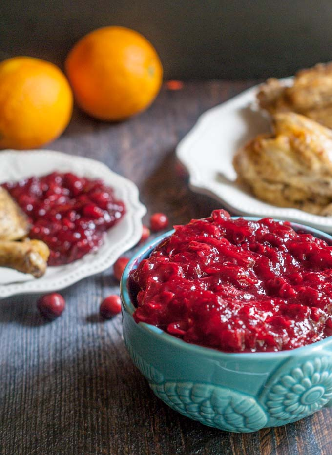 This sugar free cranberry sauce is a delicious alternative to the standard cranberry sauce. Hints of ginger, cinnamon and orange make it extra special.