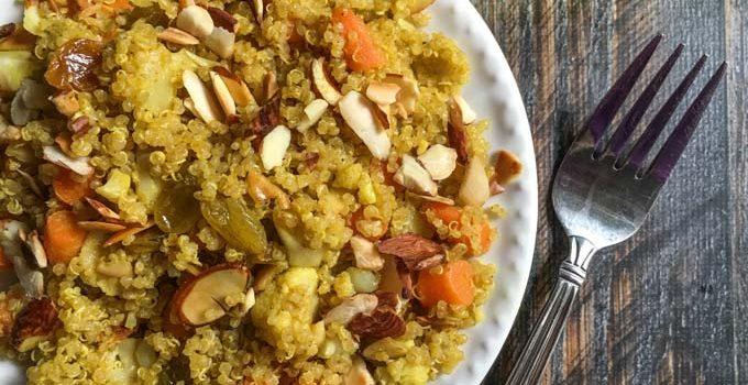 Vegetable Quinoa Pilaf (15 minutes)