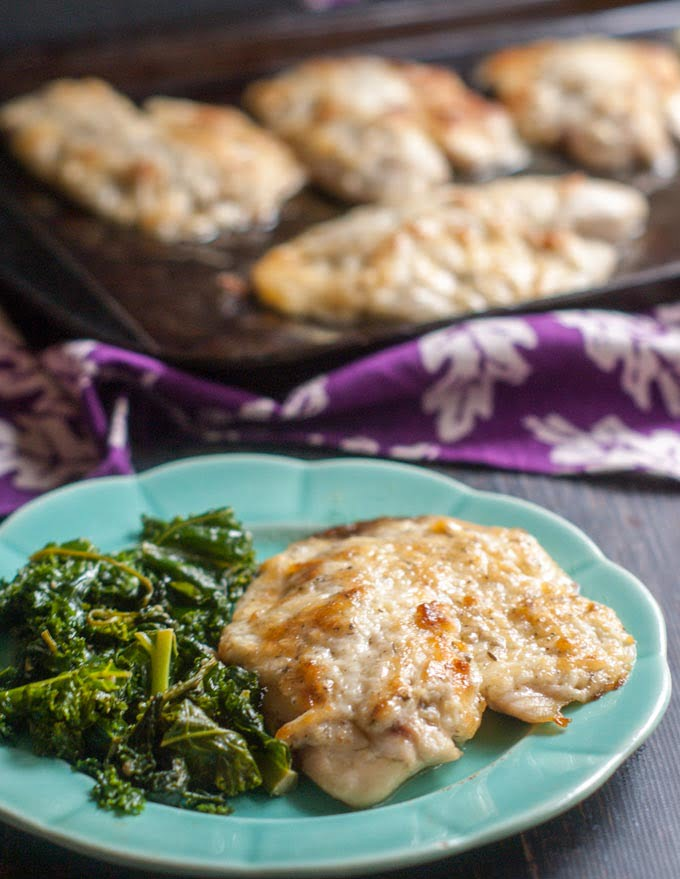 This easy asiago tilapia dish is not only low carb and delicious but it only takes 25 minutes to make. The perfect weekday dinner.