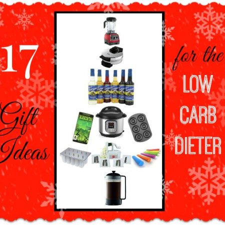This gift guide for the low carb dieter is for anyone who likes to watch what they eat or likes healthy cooking.