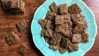 Low Carb Gyro Meat Crackers