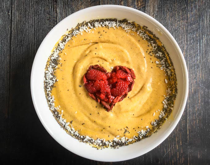 Golden Turmeric Chai Smoothie Bowl for a Healthy Breakfast!