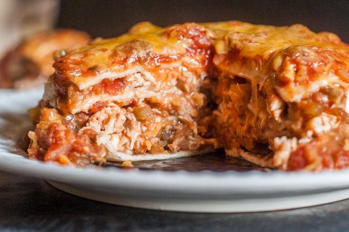 Chicken Burrito Lasagna Instant Pot My Life Cookbook Low Carb Healthy Everyday Recipes