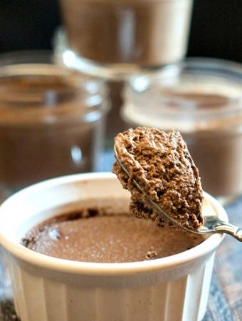 This low carb chocolate mousse is so easy to make in the Instant Pot you will be making it every week! Only 4.4g net carbs for this chocolatey, creamy treat!