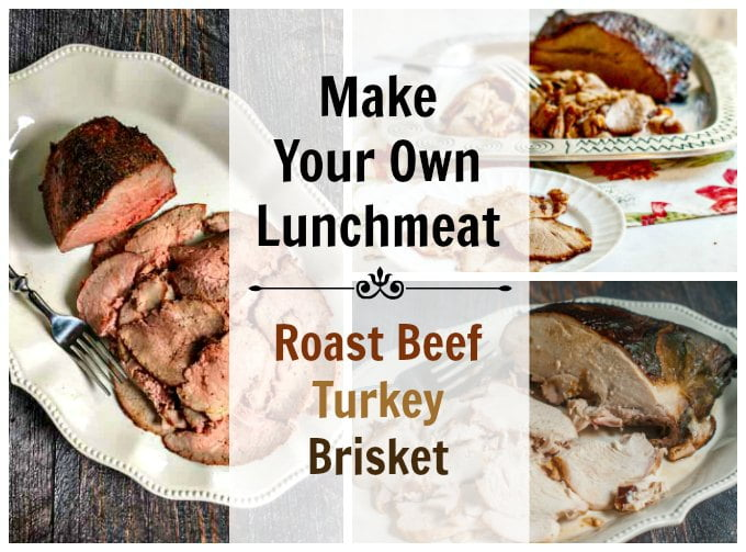 Did you ever try to make your own lunch meat? It's very easy to do and healthy for you and your family. But the best reason of all is that it is delicious!