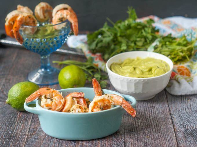Cilantro Lime Shrimp Cocktail A Great Low Carb Appetizer Or Snack