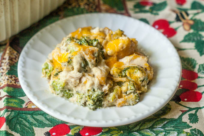 This low carb chicken broccoli casserole uses a cauliflower cream sauce for a healthier dish. This comforting casserole is tasty and easy to make. Only 5.4g net carbs per serving.