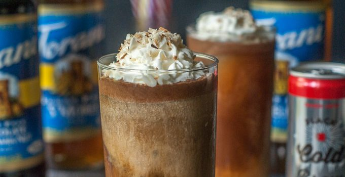 German Chocolate Cake Cold Brew Coffee (low carb)