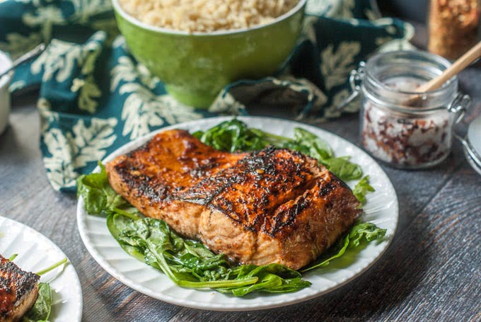 Chili soy salmon 4 ingredients need quick and easy dinner this chili soy salmon is awesome and only takes 4 forumfinder Gallery