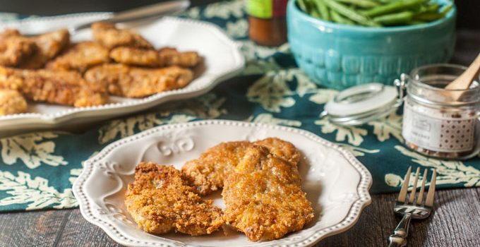 Low Carb Breaded Pork Cutlets