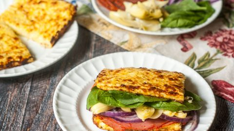 Low Carb Cauliflower Cheese Bread