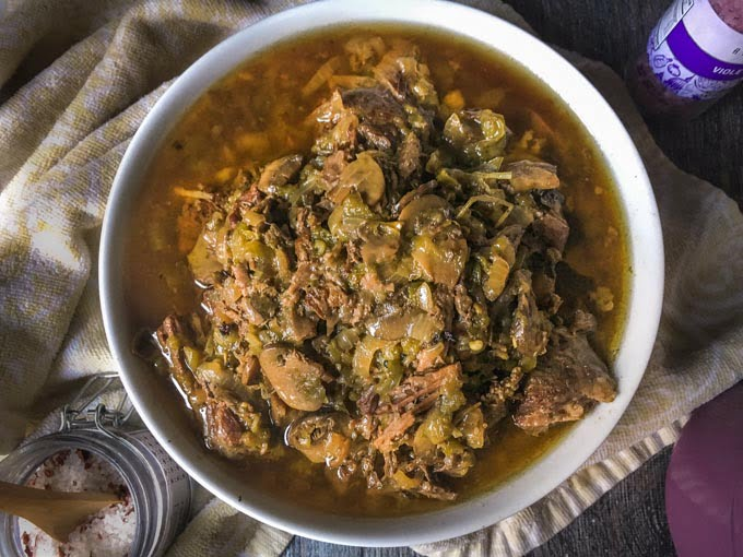 This versatile dinner of Low Carb Cheese Steak Pot Roastis an easy dinner you can make in the Instant Pot or slow cooker. For a low carb dinner, eat as is with melted cheese. Howeveryou can also eat it over noodles or rice and then make soup or sandwiches from the leftovers!