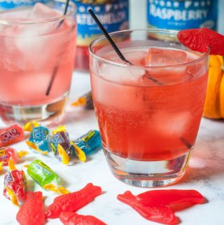 Halloween Low Carb Candy Drinks