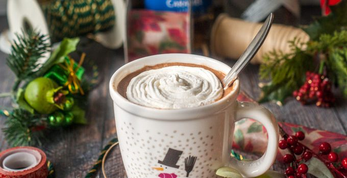 Santa's Little Helper Low Carb Spiked Cocoa