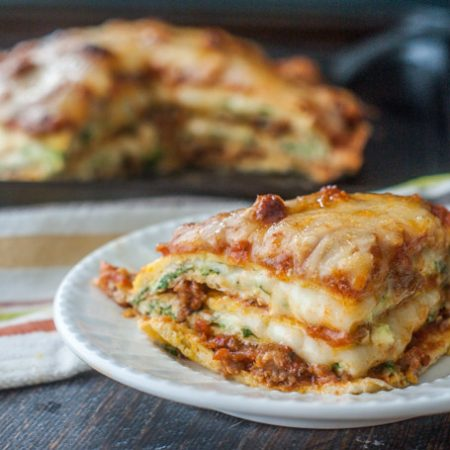 If you are craving lasagna on a low carb or gluten free diet, this low carb lasagna is the recipe for you. It's rich and savory and highly addicting at only 6.0g net carbs per serving.