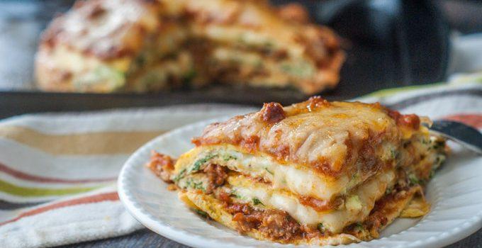 Low Carb Lasagna (gluten free)