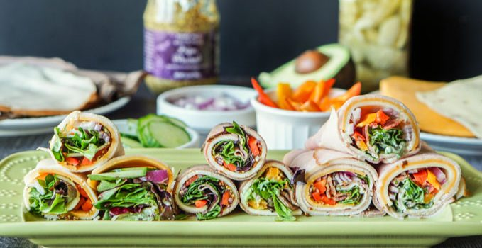 Low Carb Lunch Meat Wraps – a healthy lunch or snack!