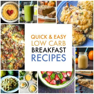 Some of my most popular posts are my low carb breakfast recipes. I have so many delicious things to try for a quick and easy breakfast. Check them out below.