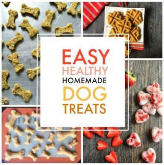 If you have a dog and love to make them healthy treats, I have a few great homemade, dog treat recipes for you.
