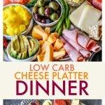 platter full of low carb keto finger foods