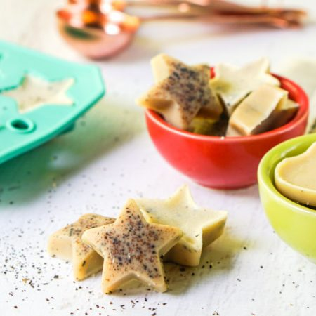 These keto chai fat bombs are a great way to satiate your hunger with good fats when on a keto or low carb diet. Using chai tea for flavor, this is a tasty low carb snack you could store in the freezer.  Each pieces as only 0.2g net carbs.