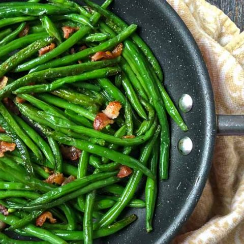 Low Carb Green Beans & Bacon