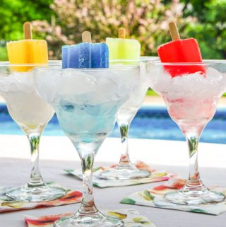 Low Carb Boozy Pops for Hot Summer Parties
