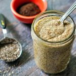 This low carb chia breakfast pudding is a delicious way to start your day. Full of healthy ingredients it's low in carbs but high in protein. And it has the added kick of caffeine from either coffee or matcha!