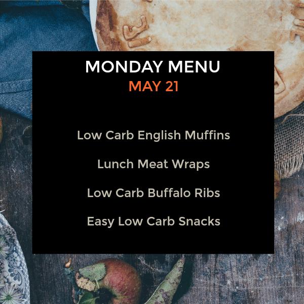 Monday Menus - Low Carb Menus to Try - My Life Cookbook - low carb