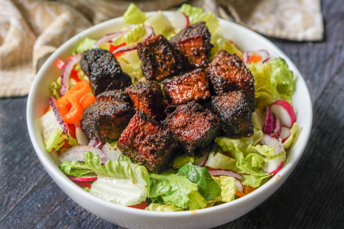 If you like crusty, morsels of smoked meat, you will love this low carb smoked burnt ends recipe. Each piece of meat has a spicy layer of rich flavor that will make your mouth water. A serving is just 2.5g net carbs.