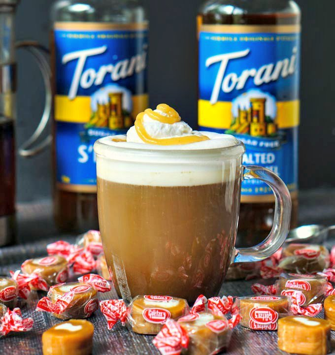 If your looking for something special to sip this fall, try this salted caramel cream coffee. All the creamy sweet flavor of those classic candies in a low carb, sugar free coffee!