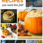 9 keto pumpkin recipes pictures with text overlay