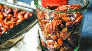 Maple Bacon Roasted Nut Mix