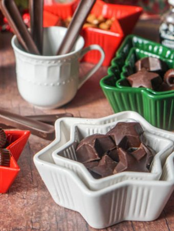 Thislow carb keto chocolate candy are the easiest thing to make. Just a few ingredients and you can make a tasty low carb Christmas gift or just snack to have on hand while on a low carb diet. Each chocolatecandy has only 0.3g net carbs.