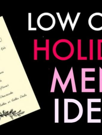 If you are looking for low carb recipes to serve over the holidays check out these low carb holiday menu ideas. Everything from low carb appetizers to drinks to serve or bring to your next celebration!