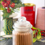 jarof keto hot chocolate mix with text