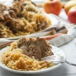 You will love this Instant Pot pork roast with sauerkraut dish on a cold winter's night. It's low carb, easy and it supposedly gives you good luck if you eat it on New Years Day!!! Only 3 ingredients and 2.2g net carbs per serving.